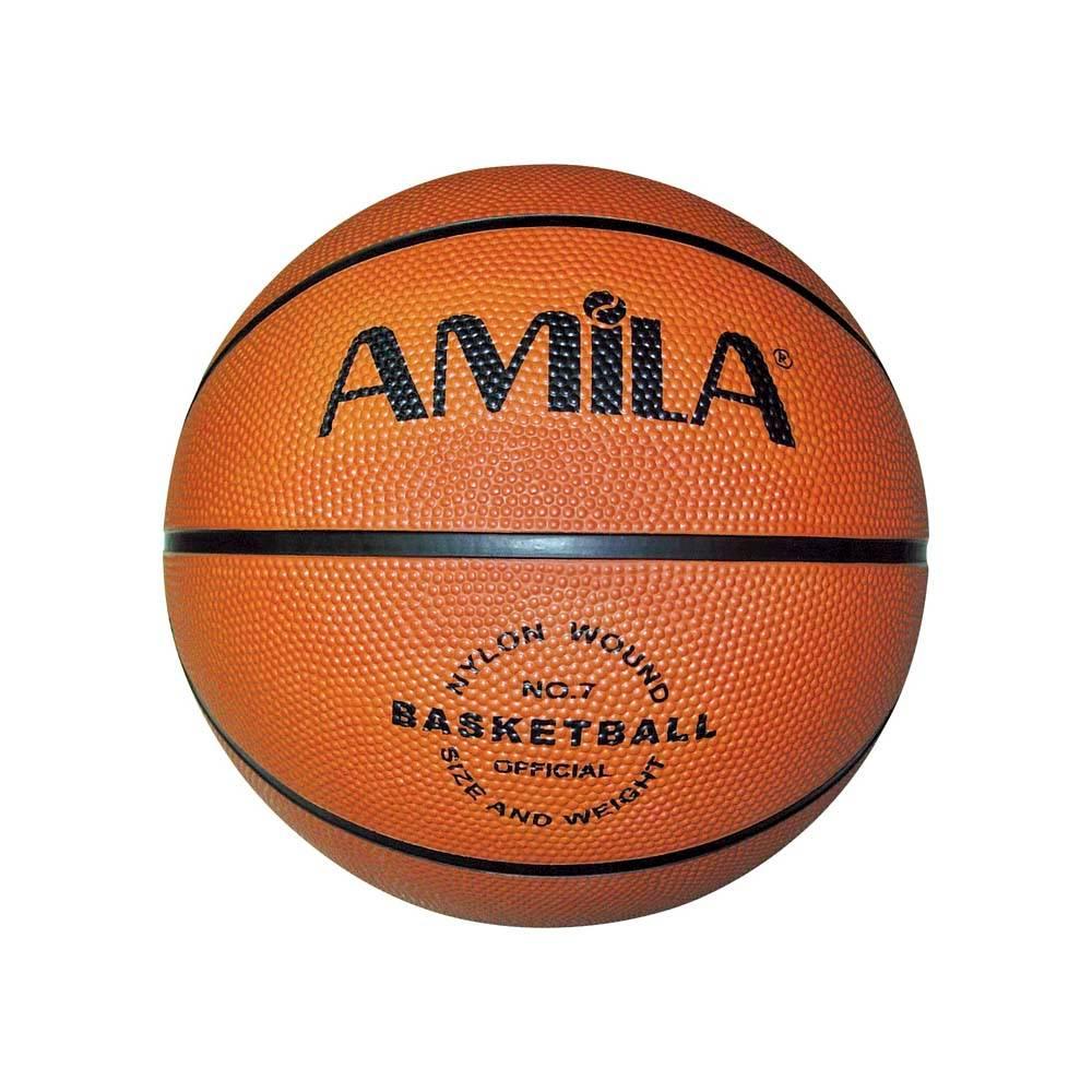 Μπάλα Μπάσκετ Νο.7 Amila RB7101-B 41709 paixnidia hobby aulhmata mpasket