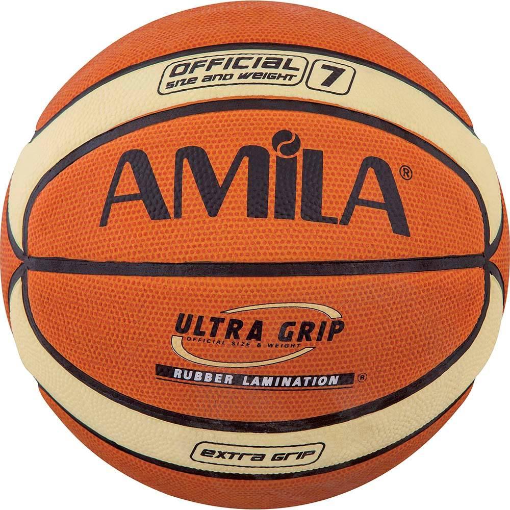 Μπάλα Μπάσκετ Amila Cellular Rubber Νο.7 41509 paixnidia hobby aulhmata mpasket