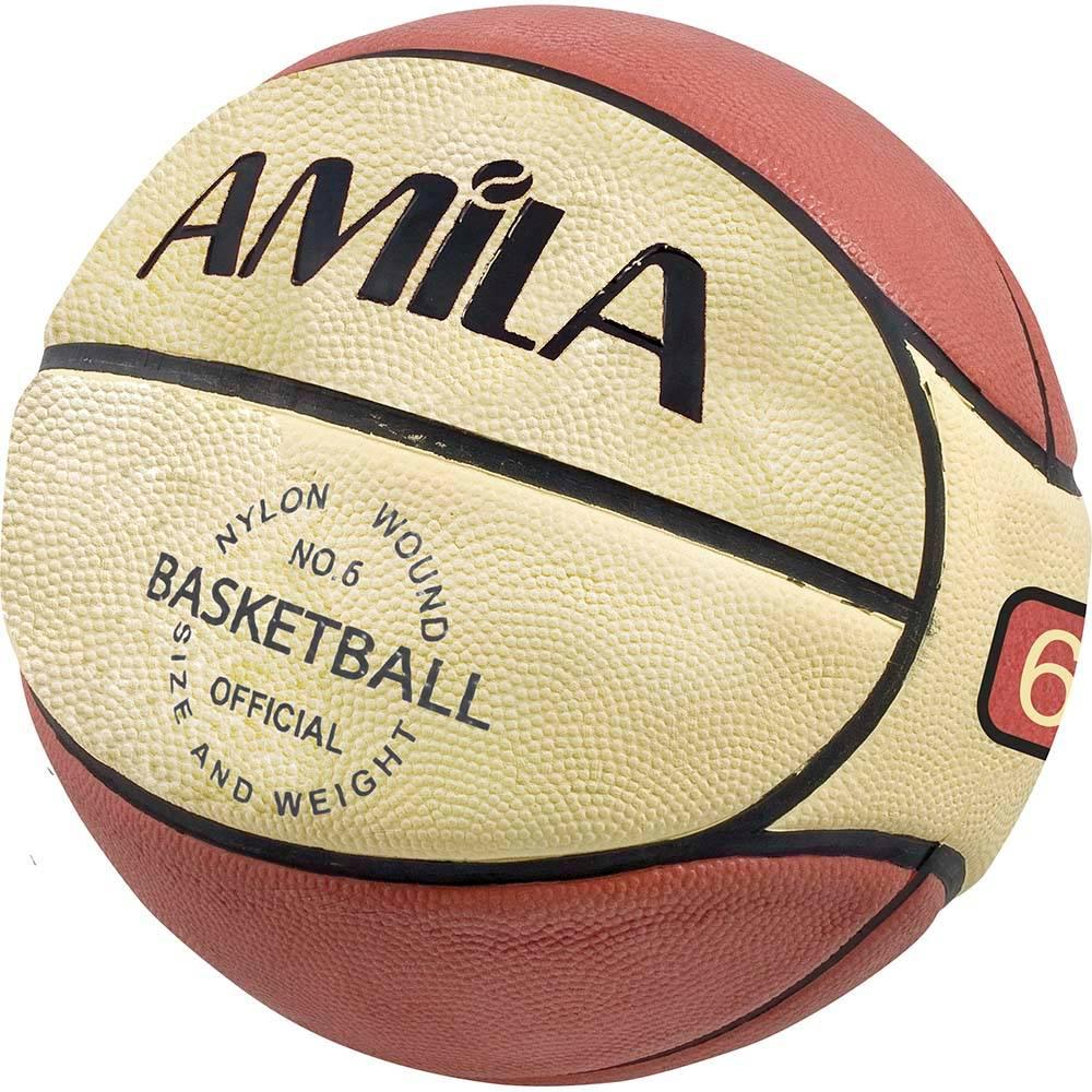 Μπάλα Μπάσκετ Amila RB6 Νο.6 41489 paixnidia hobby aulhmata mpasket