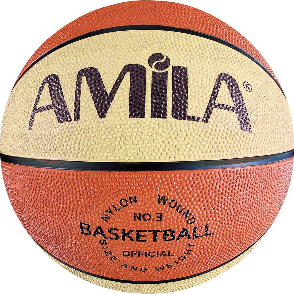 Μπάλα Μπάσκετ Amila RB6 Νο.3 41486 paixnidia hobby aulhmata mpasket