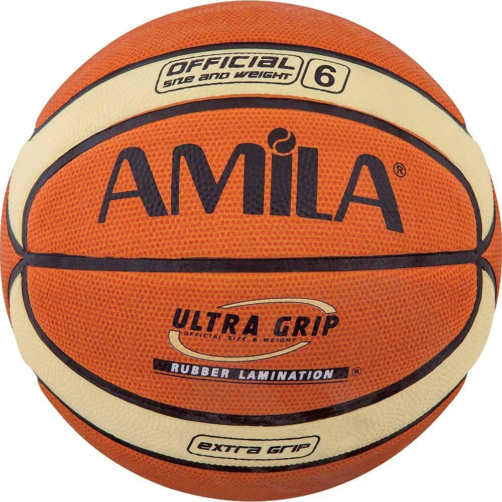 Μπάλα Μπάσκετ Amila Cellular Rubber Νο.6 41511 paixnidia hobby aulhmata mpasket