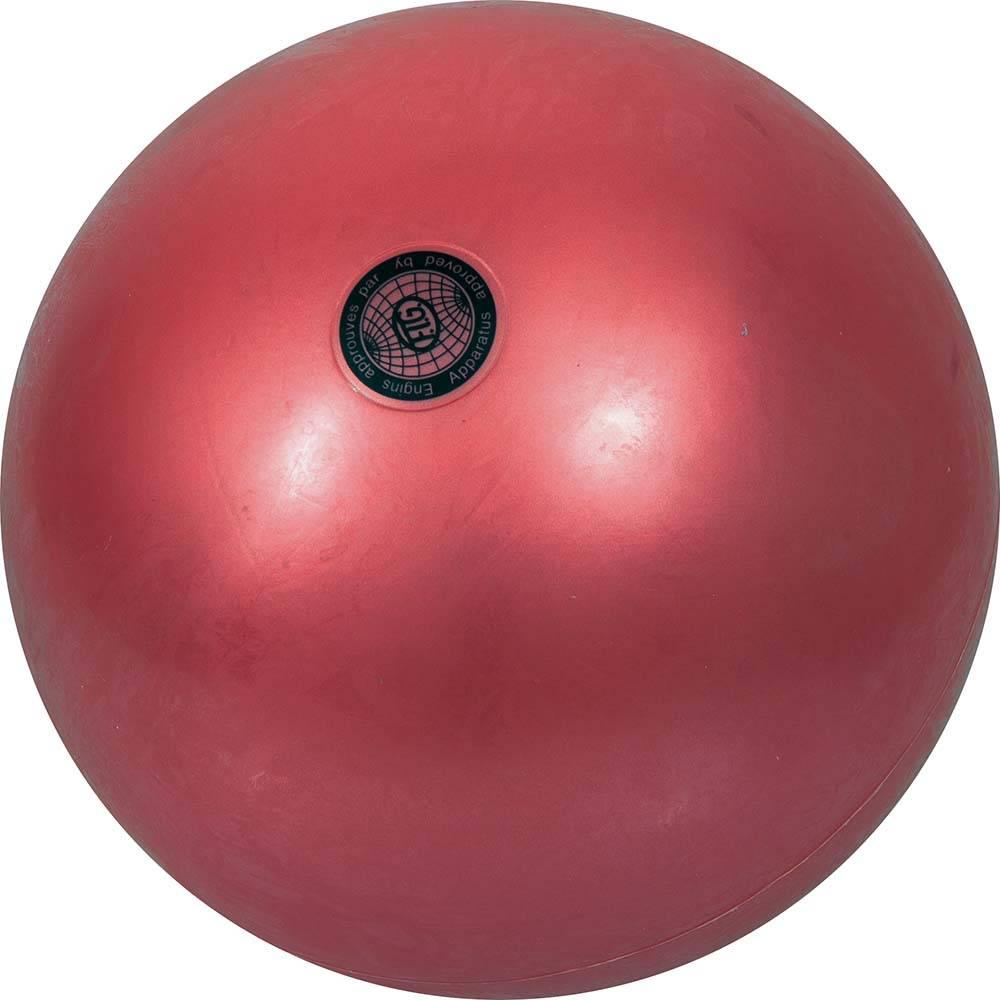 Μπάλα Ρυθμικής Γυμναστικής 16.5cm 47963 Κόκκινη paixnidia hobby aulhmata ryumikh gymnastikh