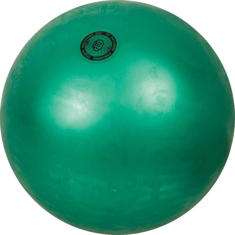 Μπάλα Ρυθμικής Γυμναστικής 19cm FIG Approved, Χρώμα με Στρας 98935 Πράσινη με Στ paixnidia hobby aulhmata ryumikh gymnastikh