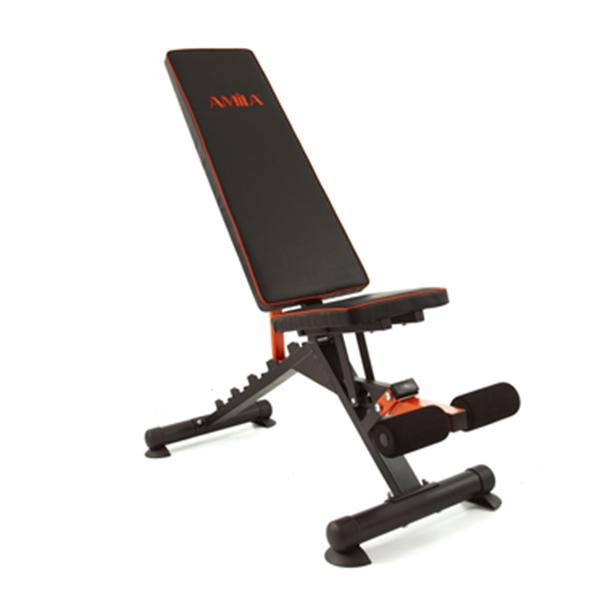 Sit Up Bench Amila 43940 paixnidia hobby organa gymnastikhs polyorgana