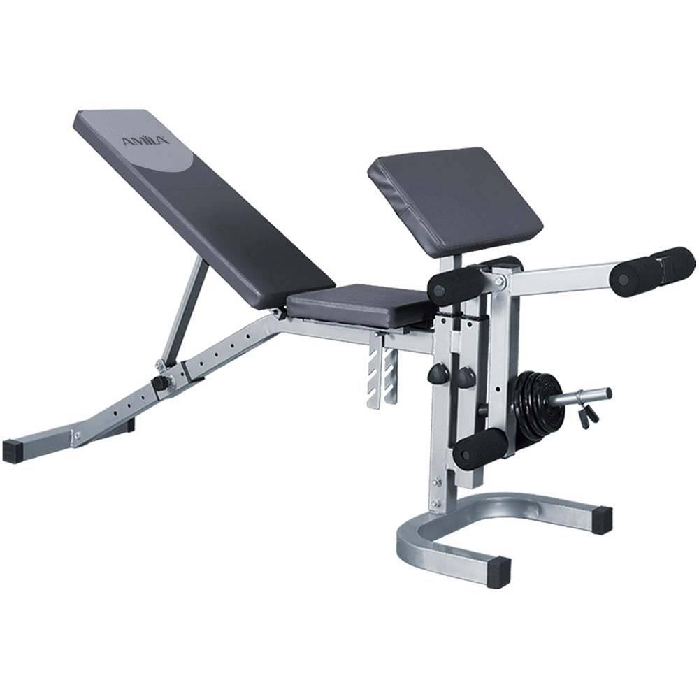 Combination bench Amila 44756 paixnidia hobby organa gymnastikhs polyorgana