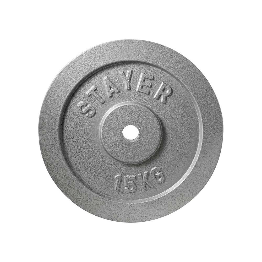 Δίσκος Εμαγιέ 28mm 15kg Stayer 84509 paixnidia hobby organa gymnastikhs barh