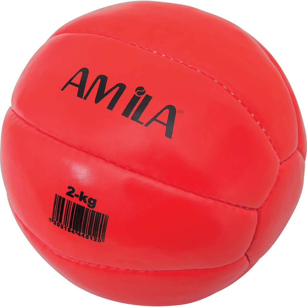Medicine Ball 1kg Amila 44511 paixnidia hobby organa gymnastikhs mikroorgana proponhshs