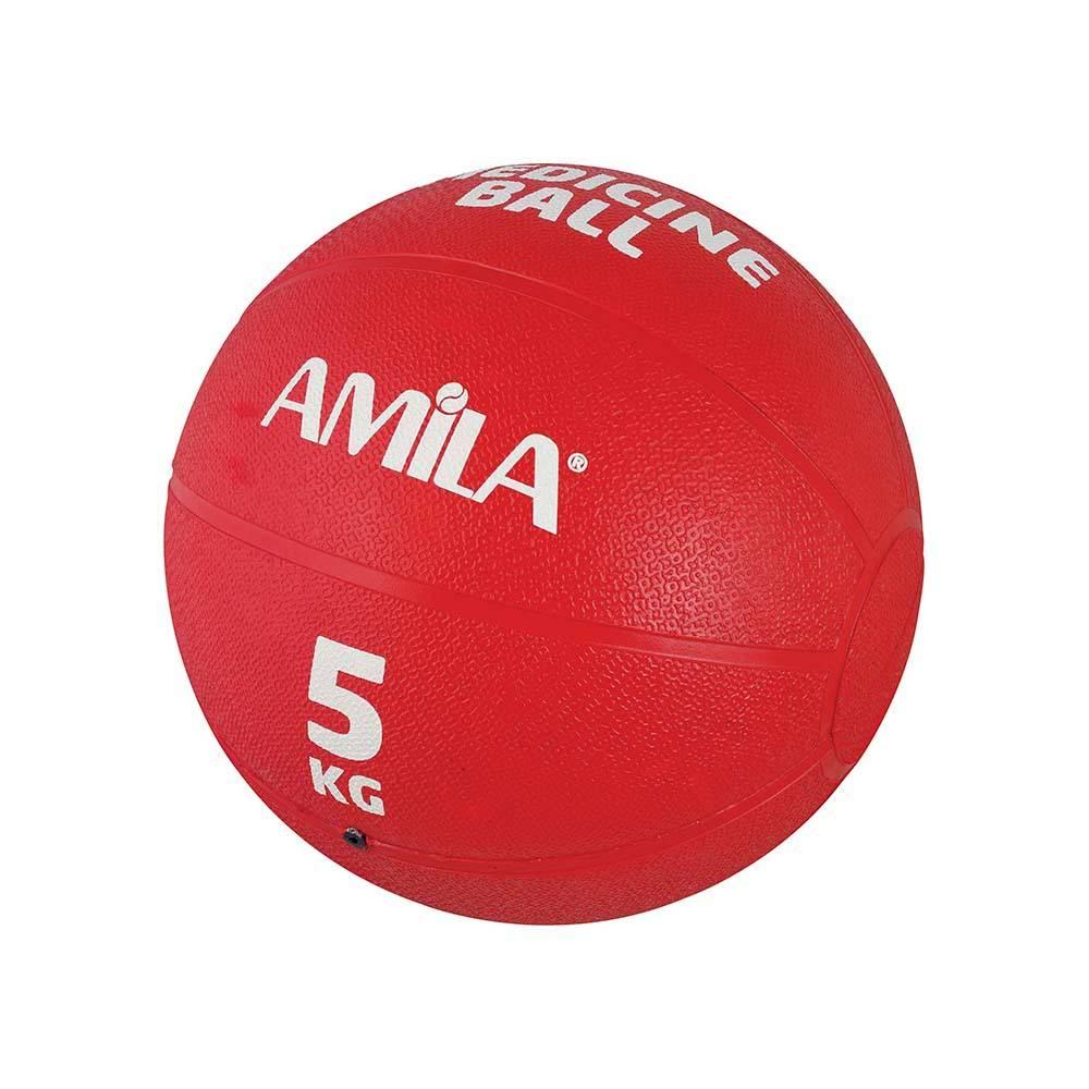 Medicine Ball 5kg Amila 44555 paixnidia hobby organa gymnastikhs mikroorgana proponhshs