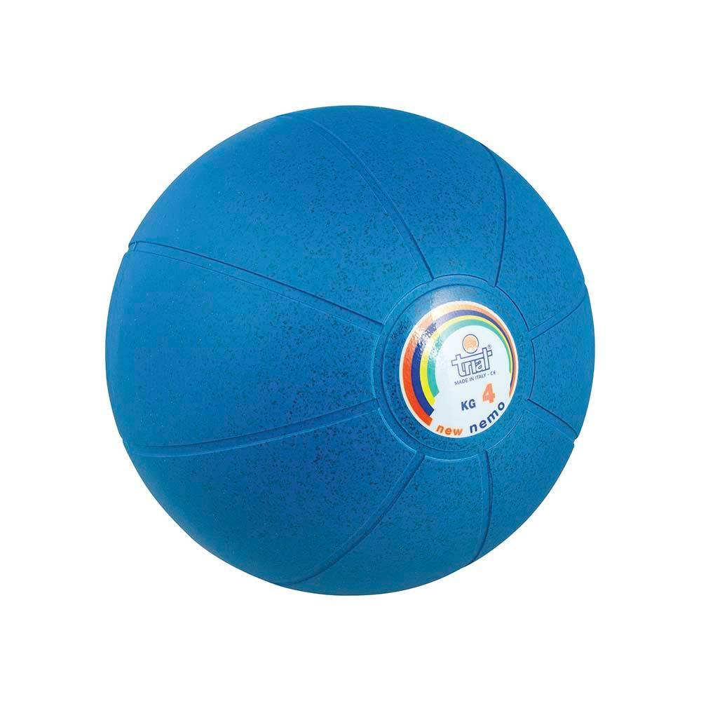 Medicine Ball Nemo 4kg Amila 44624 paixnidia hobby organa gymnastikhs mikroorgana proponhshs