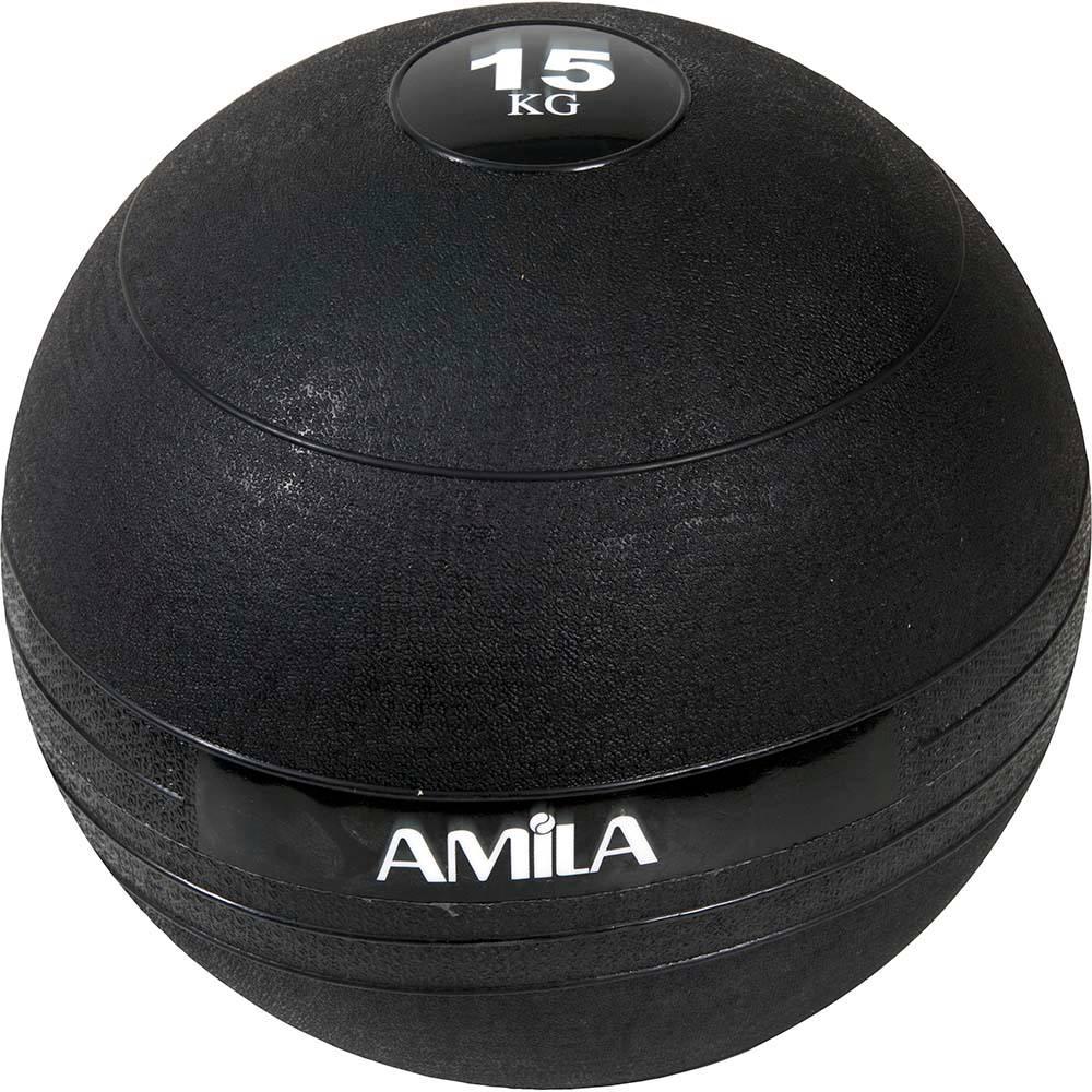 Slam Ball 15kg Amila 84639 paixnidia hobby ajesoyar gymnastikhs mikroorgana proponhshs