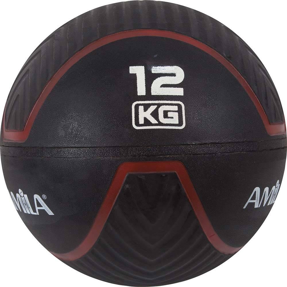 Wall Ball 12kg Amila 84745 paixnidia hobby ajesoyar gymnastikhs mikroorgana proponhshs