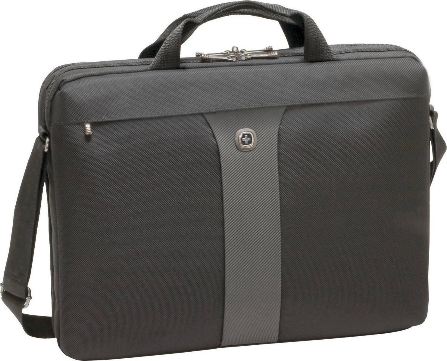 Τσάντα Laptop Wenger Legacy 17 Slimcase 600654 Μαύρο-Γκρι paixnidia hobby eidh tajidioy tsantes uhkes