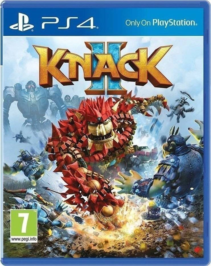 Knack 2 - PS4 Game gaming games paixnidia ps4