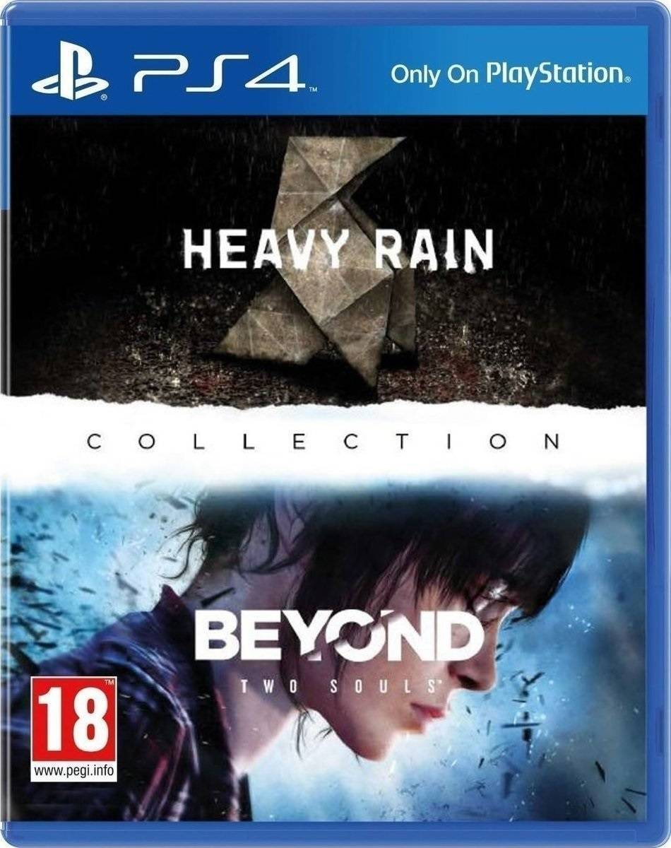 Heavy Rain & Beyond Two Souls Collection - PS4 Game gaming games paixnidia ps4