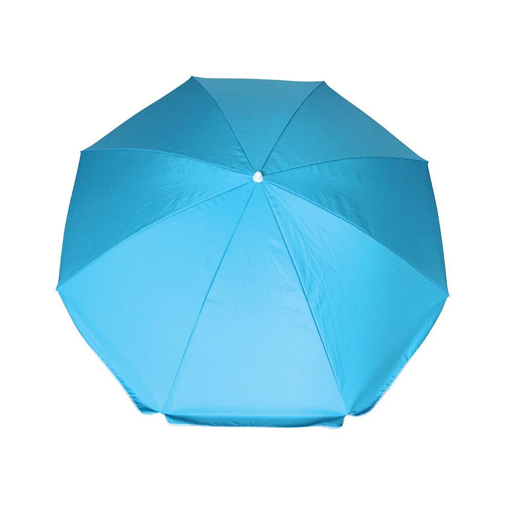 Ομπρέλα Παραλίας 2m OEM 12046 Μπλε khpos outdoor camping epoxiaka camping ompreles ualasshs