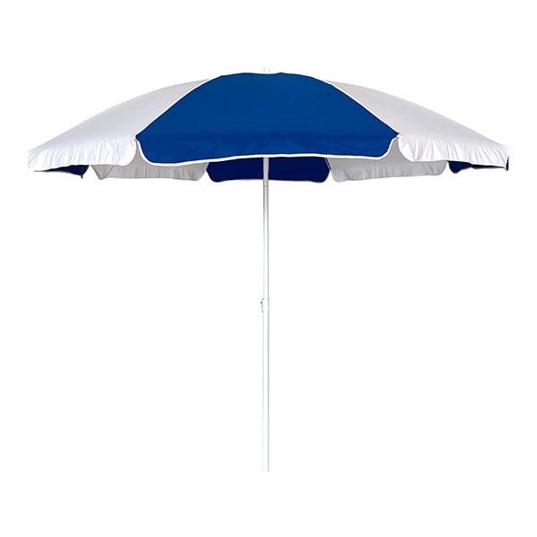 Ομπρέλα Παραλίας 2m OEM 12024 Μπλε/Άσπρη khpos outdoor camping epoxiaka camping ompreles ualasshs