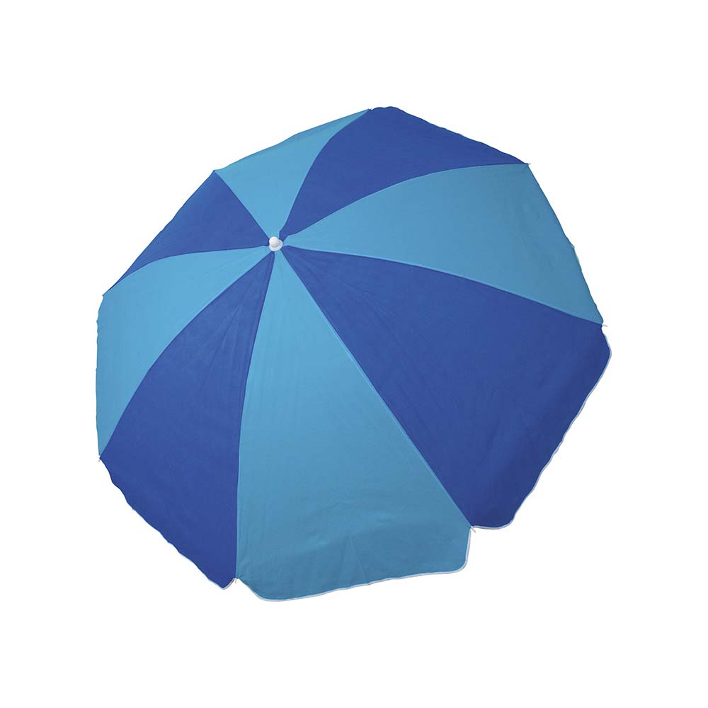 Ομπρέλα Παραλίας 2m OEM 12029 Μπλε/Γαλάζια khpos outdoor camping epoxiaka camping ompreles ualasshs