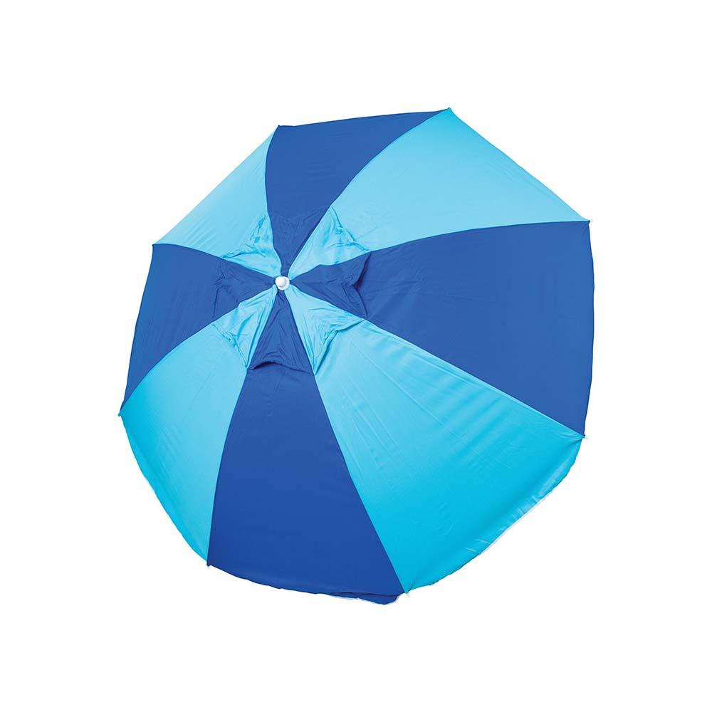 Ομπρέλα Παραλίας 2m OEM 12097 Μπλε/Γαλάζια khpos outdoor camping epoxiaka camping ompreles ualasshs