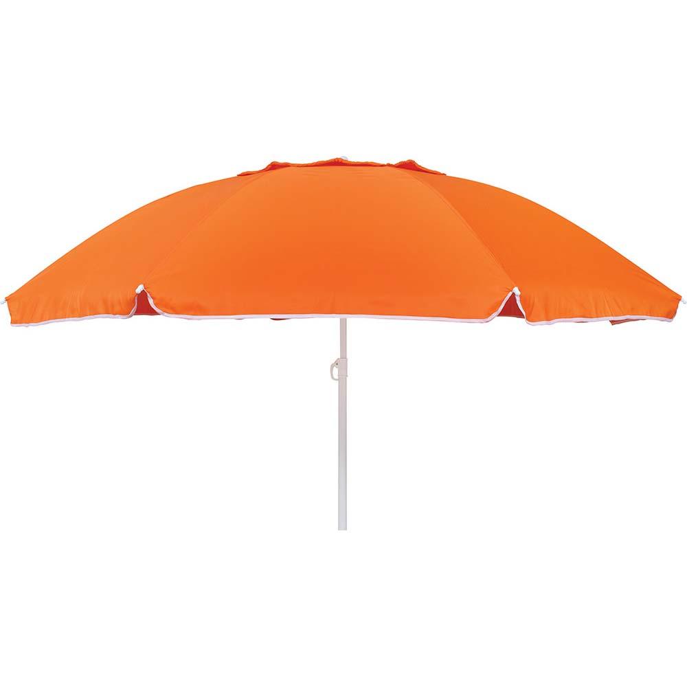 Ομπρέλα Παραλίας 2m OEM 12078 Πορτοκαλί khpos outdoor camping epoxiaka camping ompreles ualasshs