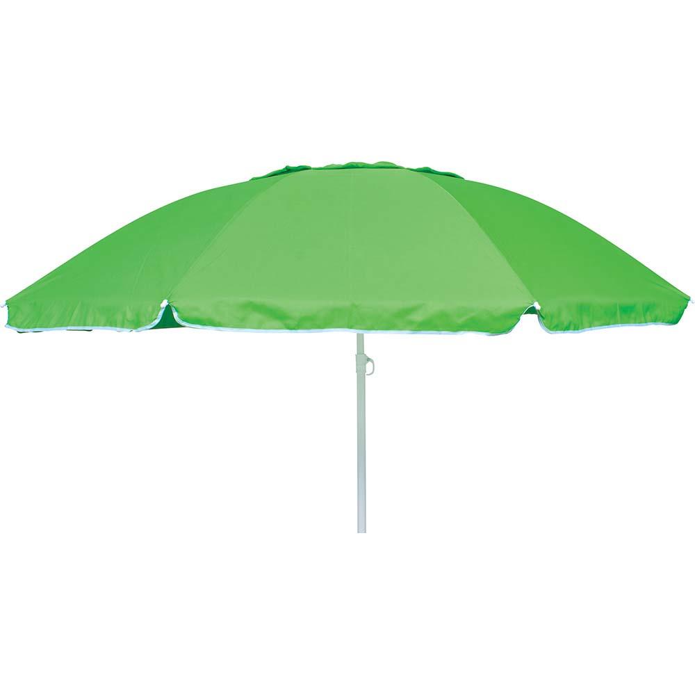 Ομπρέλα Παραλίας 2m OEM 12079 Πράσινη khpos outdoor camping epoxiaka camping ompreles ualasshs