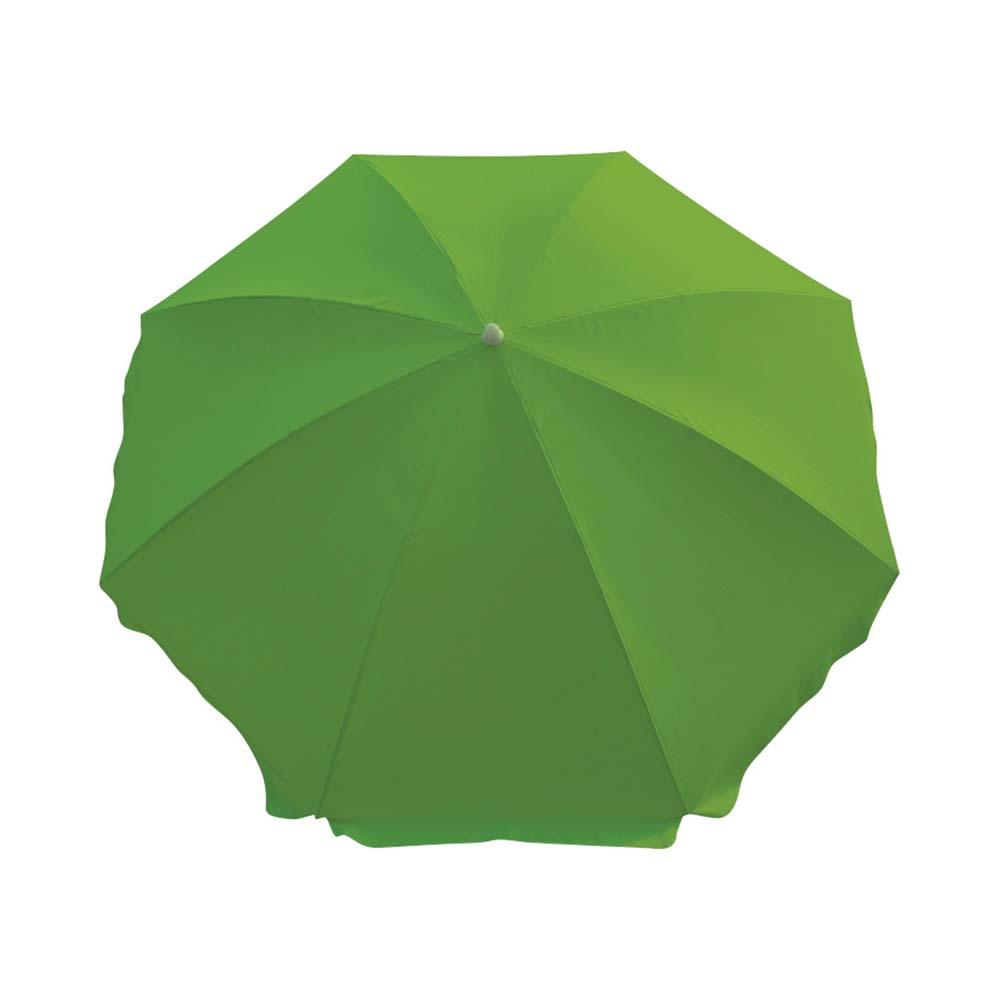 Ομπρέλα Παραλίας 2m OEM 12043 Πράσινη khpos outdoor camping epoxiaka camping ompreles ualasshs
