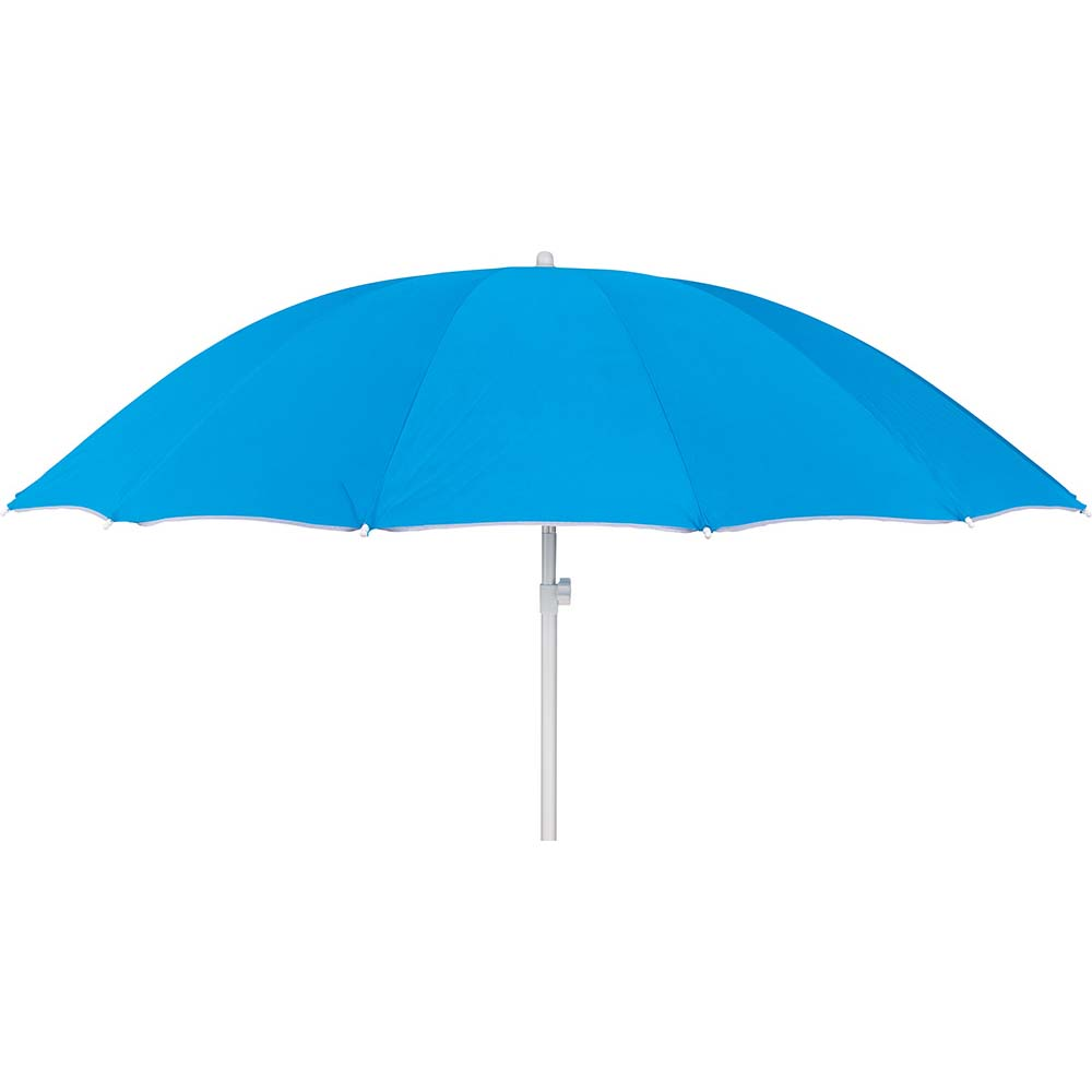 Ομπρέλα Παραλίας 2.4m Escape 12006 Μπλε Aνοιχτό khpos outdoor camping epoxiaka camping ompreles ualasshs