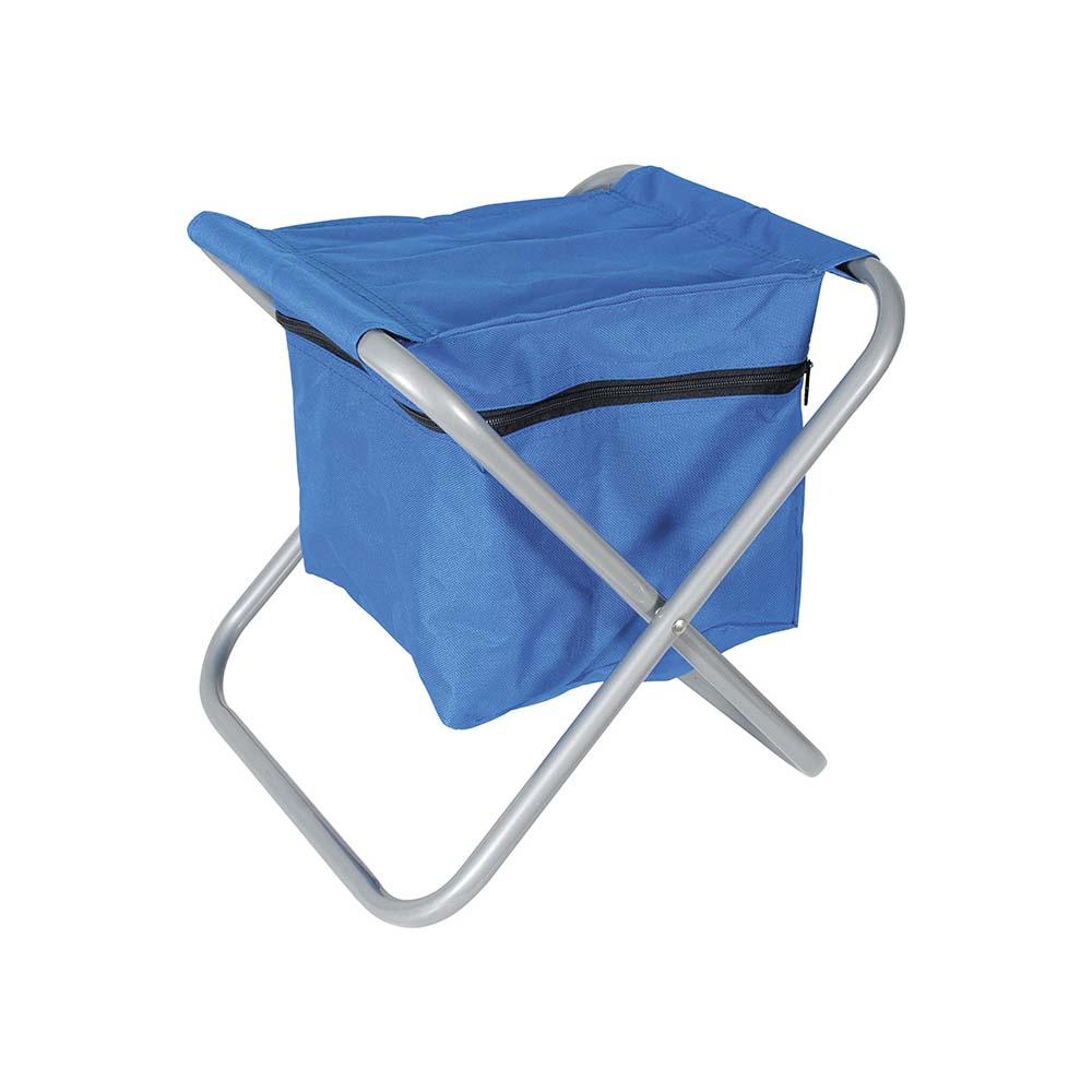 Καρεκλάκι με θήκη από κάτω OEM 15596 Μπλε khpos outdoor camping epoxiaka camping karekles paralias
