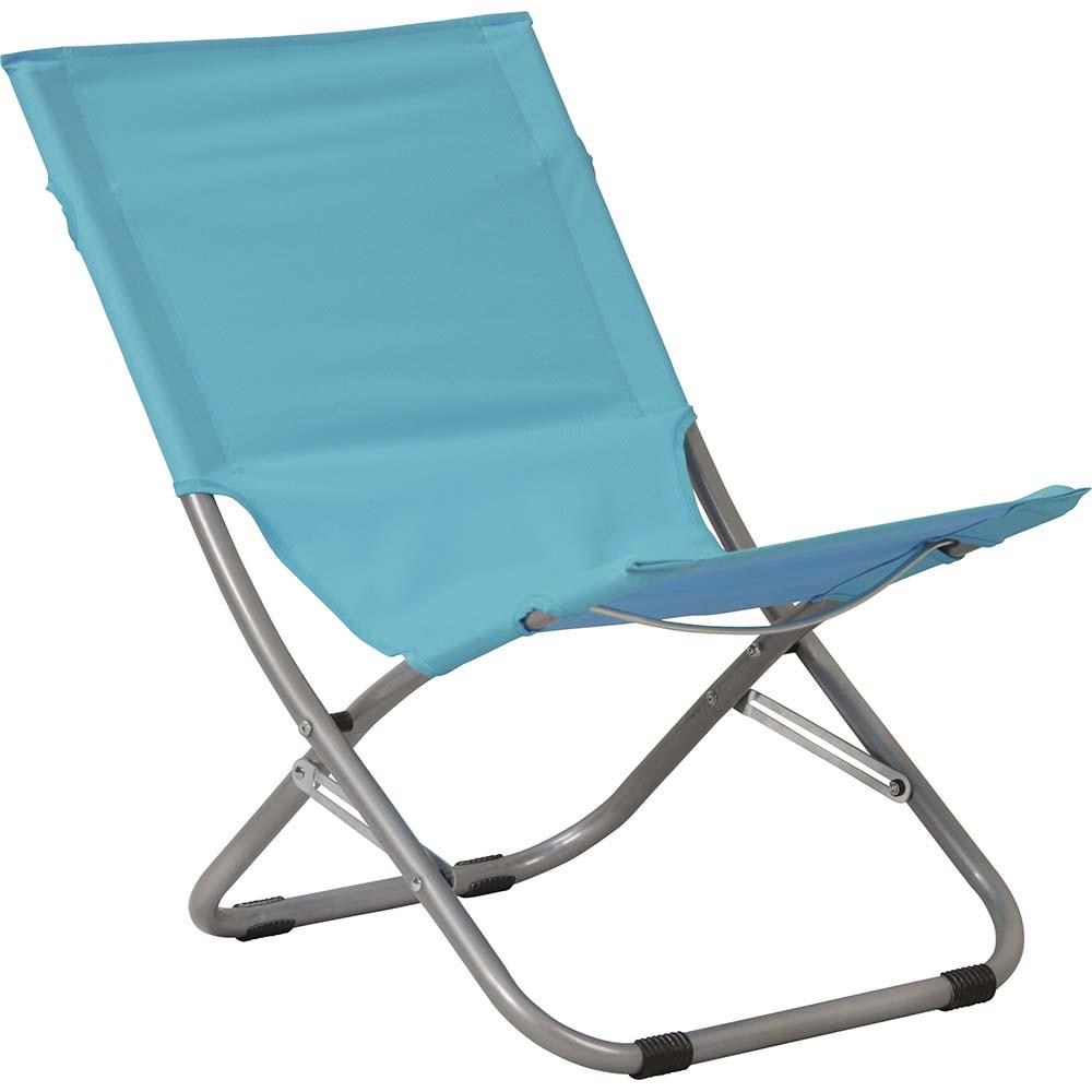 Καρεκλάκι Παραλίας OEM 15606 Γαλάζιο khpos outdoor camping epoxiaka camping karekles paralias