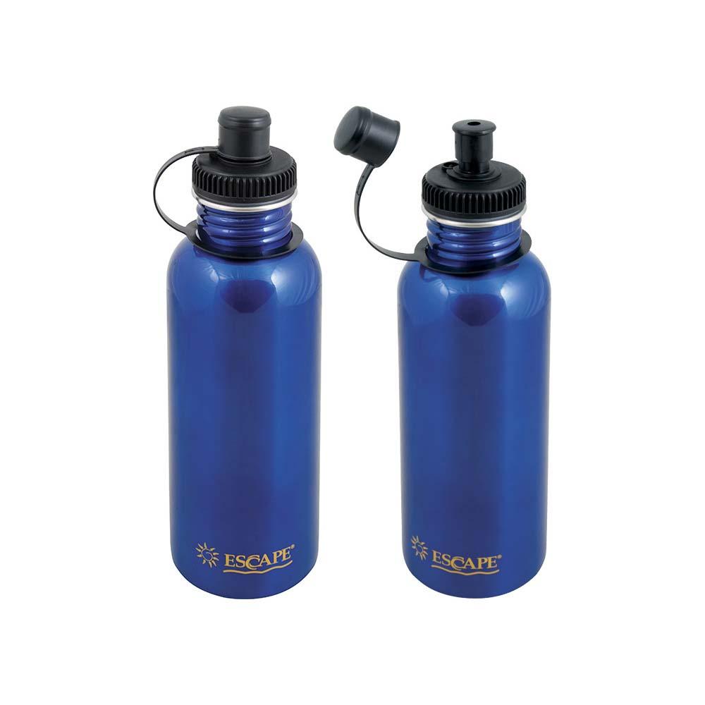 Αθλητικό Μπουκάλι 750ml Escape 13183 Μπλε khpos outdoor camping epoxiaka camping uermos