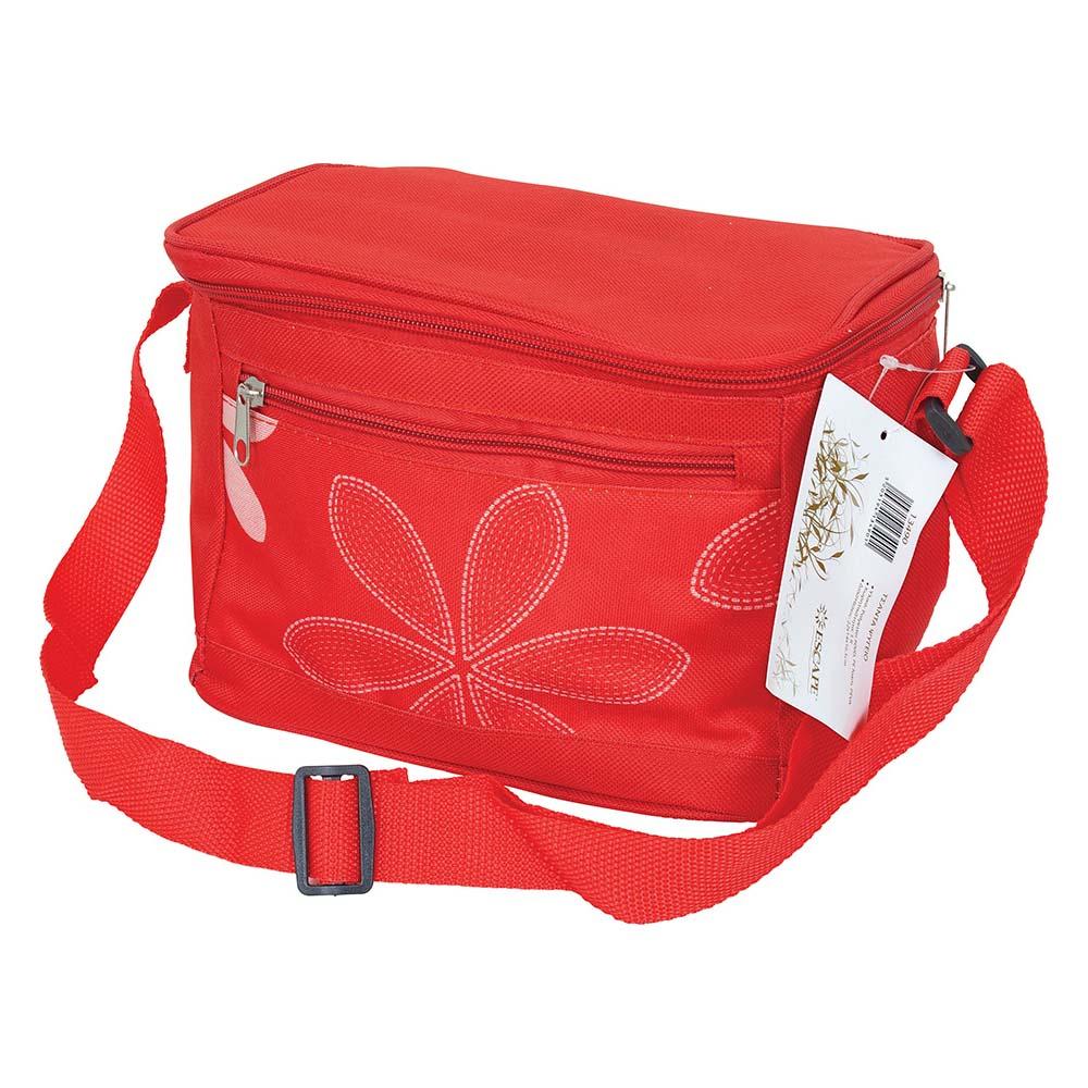 Ισοθερμική Τσάντα 5lt OEM 13490 Κόκκινη khpos outdoor camping epoxiaka camping cygeia tsantes