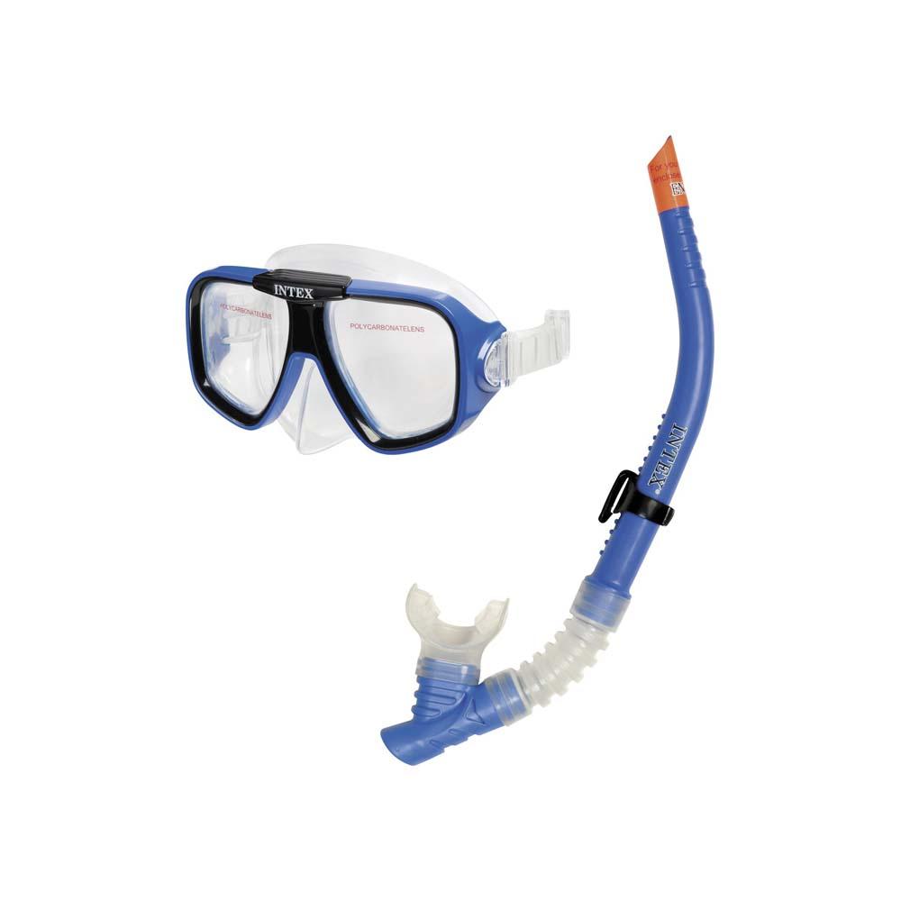 Σετ Μάσκα/Αναπνευστήρας Intex Reef Rider Swim Set 55948 paixnidia hobby diving set