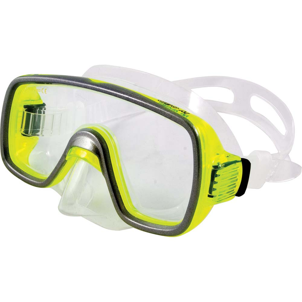 Μάσκα Θαλάσσης Geo Small OEM 52259 Διάφανη/Κίτρινη paixnidia hobby diving maskes