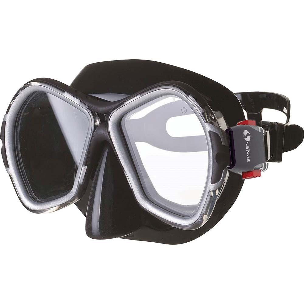 Μάσκα Θαλάσσης Salvas Sub Phoenix 52277 Μαύρη paixnidia hobby diving maskes
