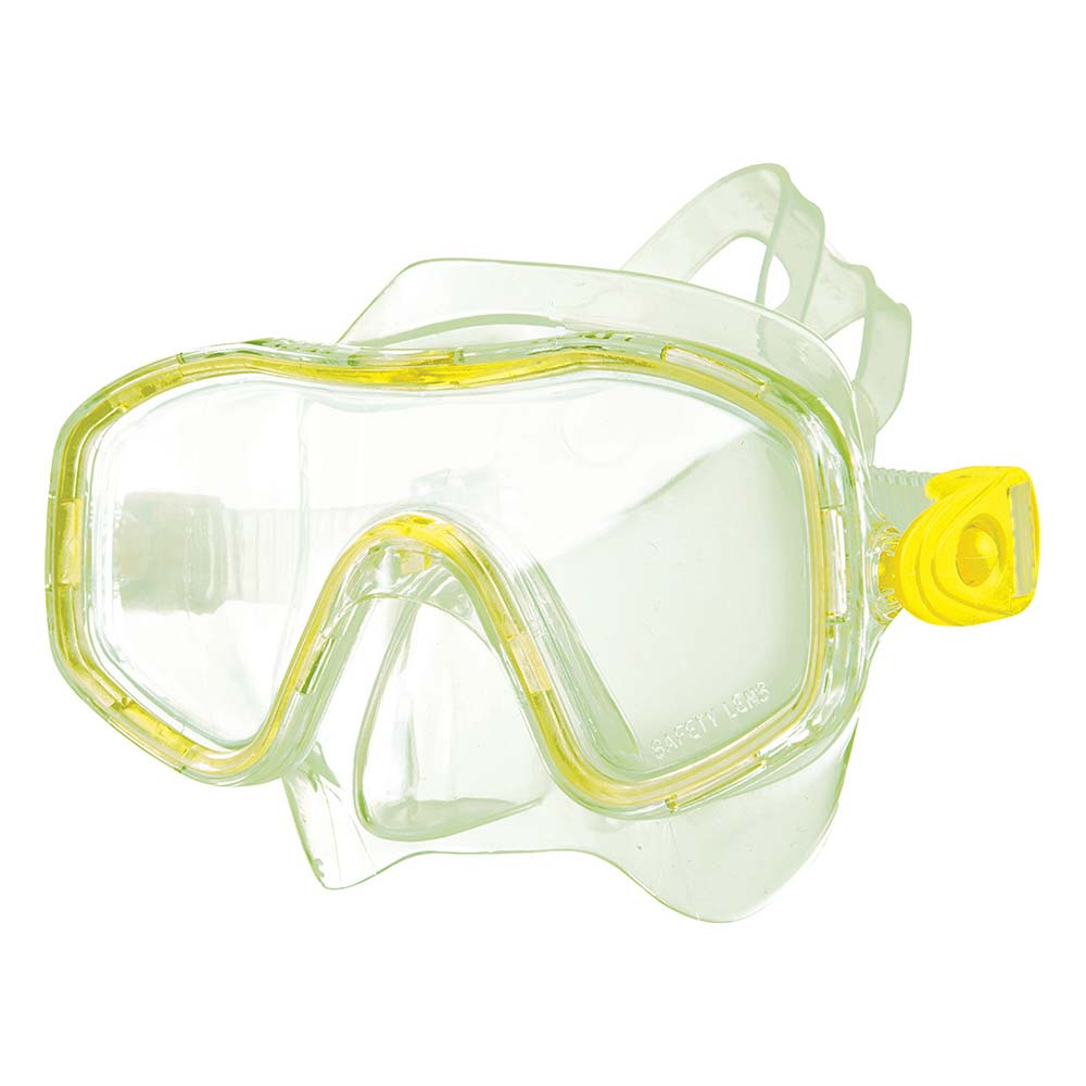 Μάσκα Θαλάσσης Easy Small OEM 52257 Κίτρινη paixnidia hobby diving maskes