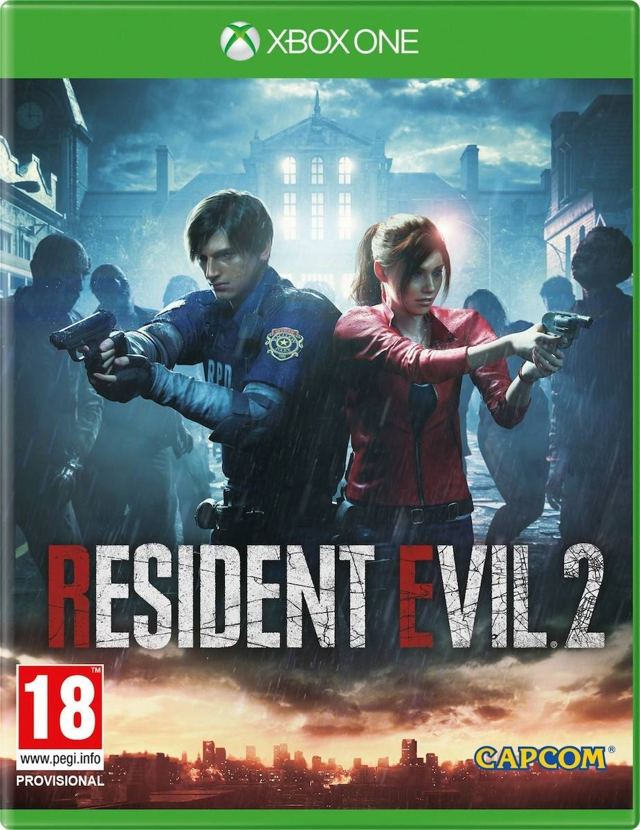 Resident Evil 2 - XBox One Game gaming games paixnidia xbox one