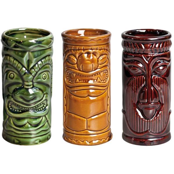 Σετ 3 Κούπες 25cl APS Tiki Mug