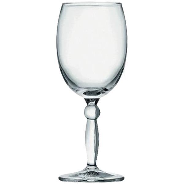 Ποτήρι Γυάλινο Κολωνάτο Νερού 30 cl CoK Alar Style Aqua Σετ 6τμχ