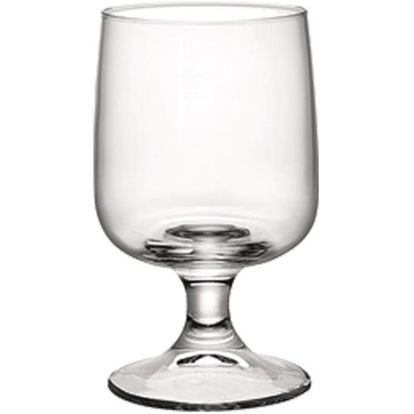Γυάλινο Ποτήρι Κολωνάτο 28cl Bormioli Rocco Executive Σετ 3τμχ