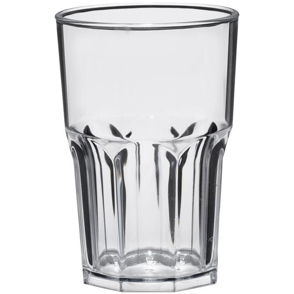 Πλαστικό Ποτήρι Πισίνας 42cl Goldplast San 2763-21 Διαφανές Σετ 5τμχ
