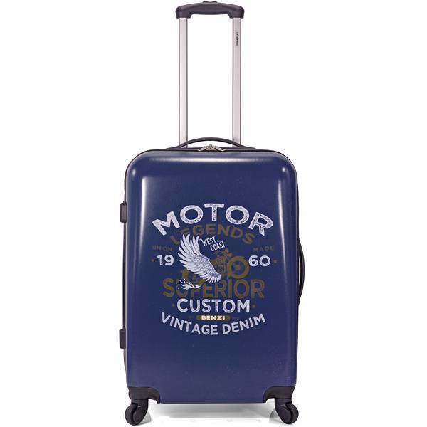 Βαλίτσα Καμπίνας με 4 Ρόδες Benzi BZ5337/50 Σχέδιο 1 paixnidia hobby eidh tajidioy balitses