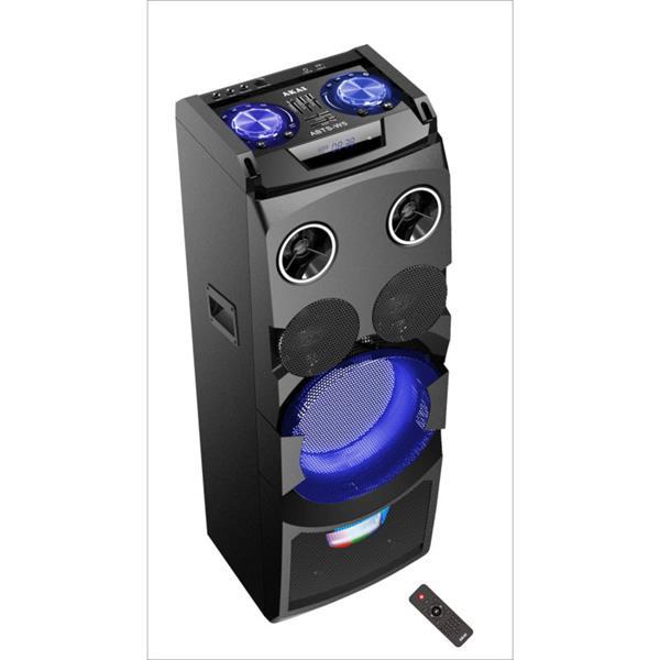 Ηχείο Karaoke με Bluetooth, Led 50W Rms Akai ABTS-W5 hlektrikes syskeyes texnologia eikona hxos hxeia