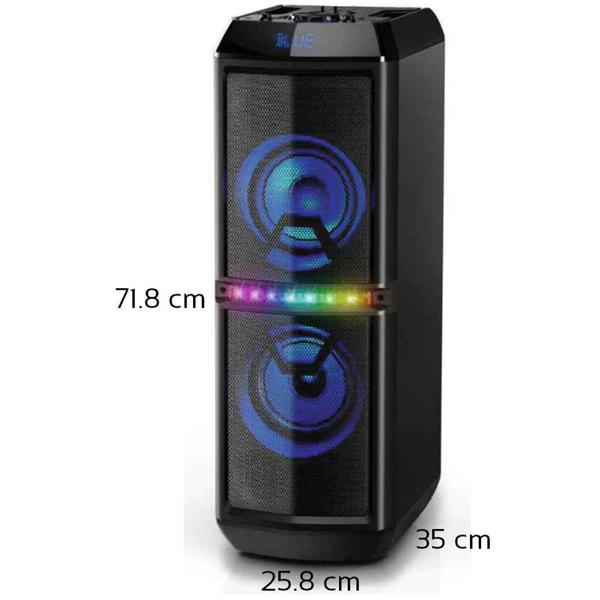Ηχείο Bluetooth Karaoke με Led 80W Akai ABTS-82 hlektrikes syskeyes texnologia eikona hxos hxeia