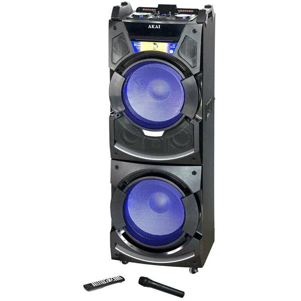 Φορητό Ηχείο Bluetooth με Μείκτη, Led 400W Akai DJ-S5H hlektrikes syskeyes texnologia eikona hxos hxeia
