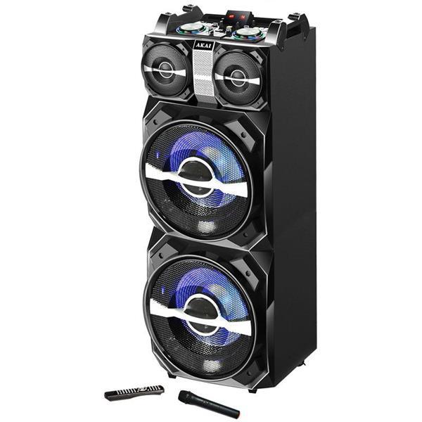 Φορητό Ηχείο Bluetooth με Μείκτη, Led 300W Akai DJ-T5 hlektrikes syskeyes texnologia eikona hxos hxeia