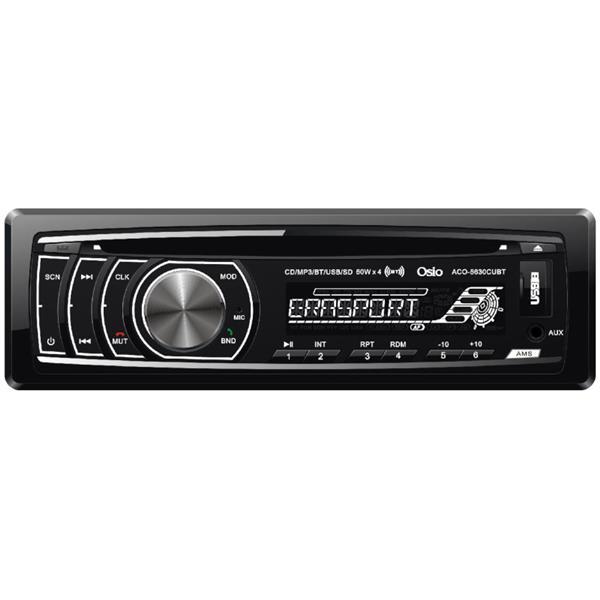 Ράδιο-CD Αυτοκινήτου με Bluetooth, USB, SD, Aux-In Osio ACO-5630CUBT aytokinhto mhxanh eikona hxos hxosysthmata aytokinhtoy