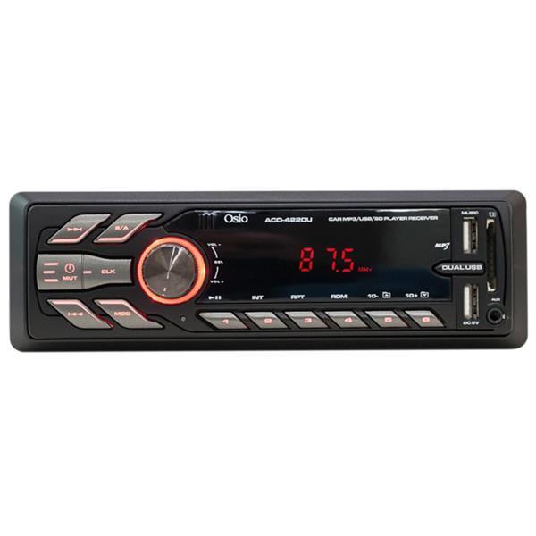 Ραδιο USB Αυτοκινήτου με Διπλό USB για Φόρτιση & SD/Aux-In Osio ACO-4220U aytokinhto mhxanh eikona hxos hxosysthmata aytokinhtoy