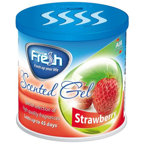 Gel Αρωματικό Αυτοκινήτου Fresh SG15 Φράουλα aytokinhto mhxanh frontida aytokinhtoy aromatika