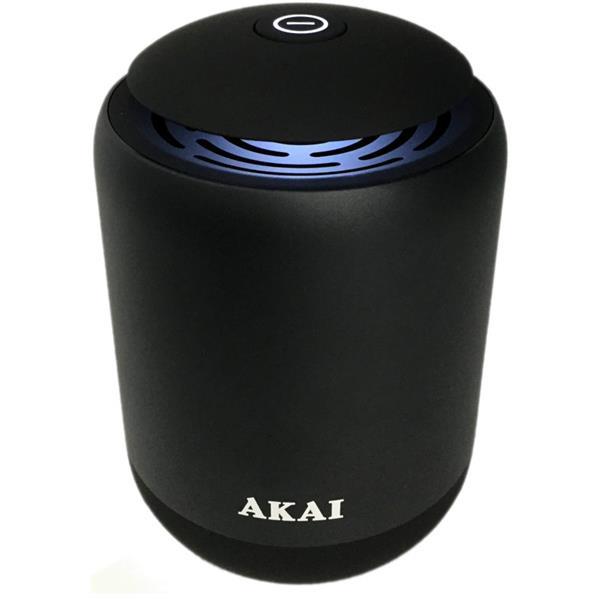 Μεταλλικό Ηχείο Bluetooth με Led, USB, SD Akai ABTS-S4 hlektrikes syskeyes texnologia eikona hxos hxeia