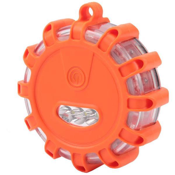 Αδιάβροχο Μαγνητικό Προειδοποιητικό Φως Sos με 9 Λειτουργίες & Φακό Olympia WL 9