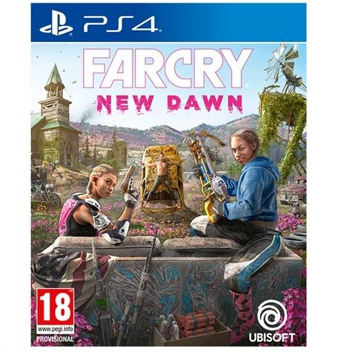 Far Cry New Dawn - PS4 Game gaming games paixnidia ps4